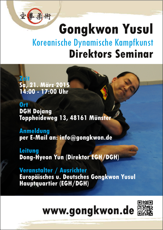 Martial Arts Gongkwon Yusul Seminar in Muenster