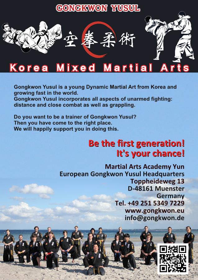 Martial Arts Gongkwon Yusul Instructor Courses 1