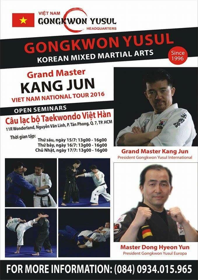 Gongkwon Yusul Seminar in Vietnam