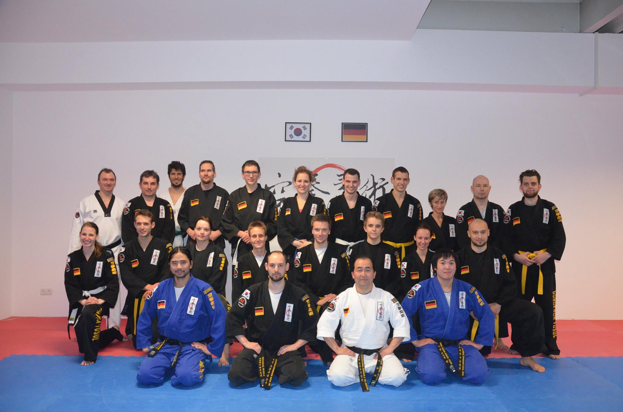 Martial Arts Gongkwon Yusul Seminar in Memmingen Germany